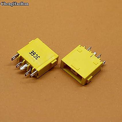 Connectors 1pcs DC Power Jack Socket Port Connector for Lenovo IdeaPad Yoga 13 PJ580 Laptop Wholesale Cable Length: Other