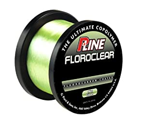P line floroclear bulk mist green fishing for Pline fishing line