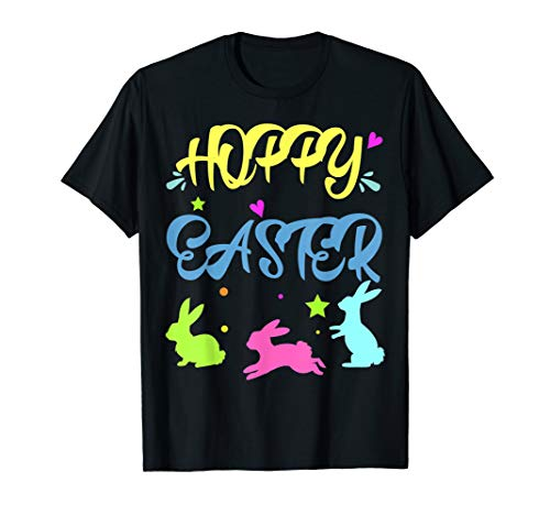 Hoppy Easter T-Shirt Novelty Orthodox Easter Gift Costume