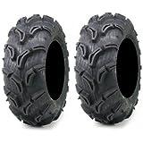 Pair of Maxxis Zilla ATV Mud Tires 25x11-9 (2)