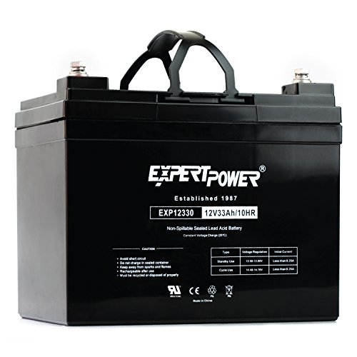 ExpertPower 12v 33ah Rechargeable