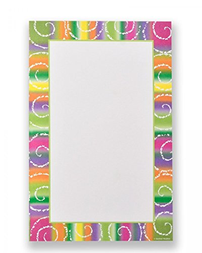 Fiesta Border Stationary Print at Home Invitation Kit ()