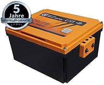 Liontron Lithium Lifepo4 Akku 22kg 150ah Wohnmobil Installation Unterm Sitz Auto