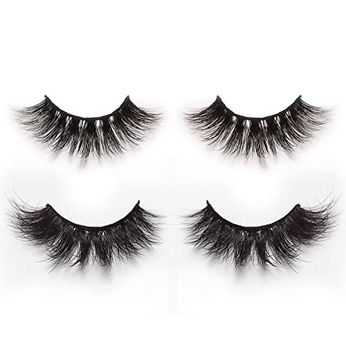 Lovely Top Eyelashes 3d Mink Lashes Natural Handmade Full Strip Lashes Transparent Terrier Short Mink Lashes Style False Eyelashes Nl-7 Easy To Repair False Eyelashes Beauty Essentials