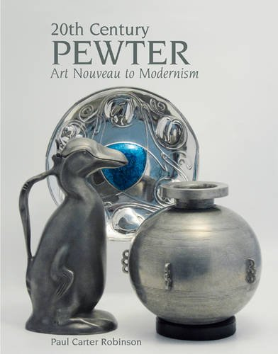 20th Century Pewter  Art Nouveau To Modernism