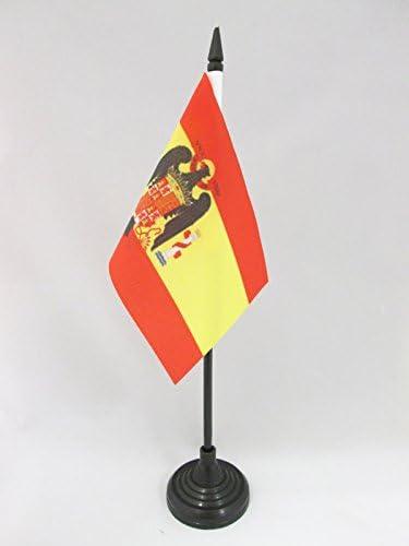 AZ FLAG Bandera de Mesa de ESPAÑA DE Franco 1945-1977 15x10cm ...