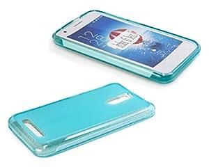 caseroxx TPU-Carcasa azul claro + Protector de pantalla Archos 45 Neon , que consiste en un TPU-Carcasa y un Protector de pantalla