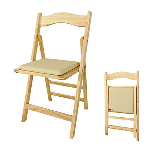 SoBuy® Klappstuhl, Stuhl, Holzstuhl, Küchenstuhl, Essstuhl, FST06-N