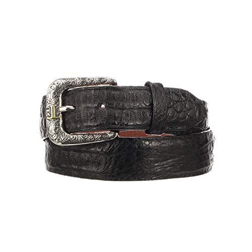 Lucchese W9321 Men's Hornback Caiman Belt - 34