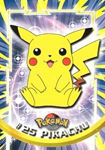 Amazon.com: Pokemon Card - Pikachu #25 - Topps: Toys & Games