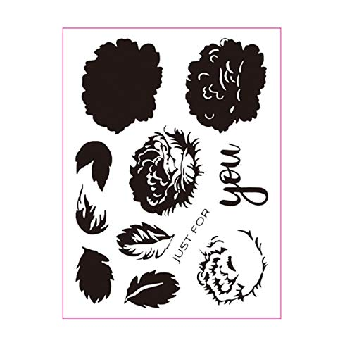 Best peony bouquet stamp set