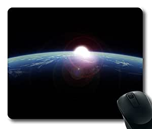 Design Earth From Space 2 Mouse Pad Desktop Laptop Mousepads Comfortable Office Mouse Pad Mat Cute Gaming Mouse Pad by Maris's Diary