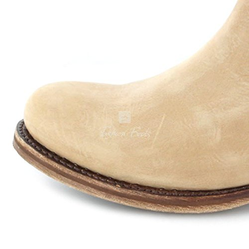 Mujer Sendra De Vaquero Beige Boots12440 Botas rIgrzZ