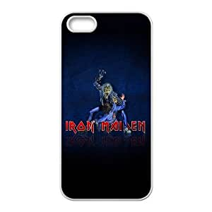 iPhone 5 5s Cell Phone Case White Iron Maiden LV7026786