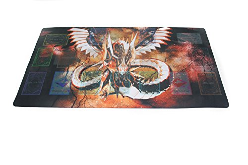 Yo-gi-oh Custom Playmat Cyber Dragon Infinity Master Rule Link Plus Monster Zone Mouse Pad & Table Mat | Size 23-7/8-Inch x 13-1/2-Inch (AArt TM) by AArt TM