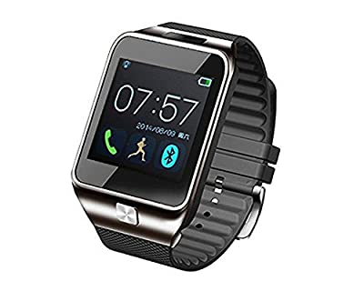 Aberobay 2015 Latest Smart Bluetooth 4.0 GV09/DZ09/V8/GV08S/U TERRA/DM 08 Wristwatch Heart Rate Monitor Can Be Used for Sports Pedometer,Sleep Monitoring,Answering Phones, Remote Camera, Intelligent Anti-lost and Other Functions Ranging, is Currently The