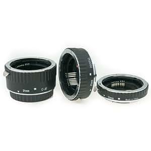 Phottix 61250 - Juego De Tres Tubos De Extensión Af Px Para Canon Eos
