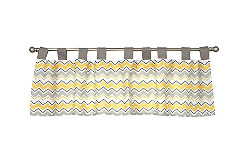 Trend Lab Buttercup Zigzag Valance