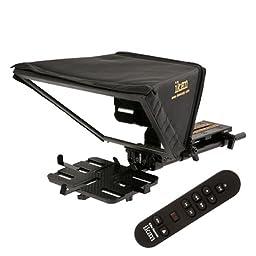 Ikan PT-ELITE-UL-RC Elite Large Universal Tablet Teleprompter Kit with Elite Remote (Black)