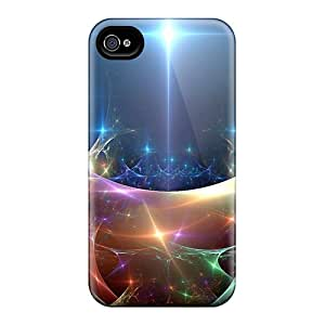Premium Tpu Abstract Cover Skin For Iphone 4/4s