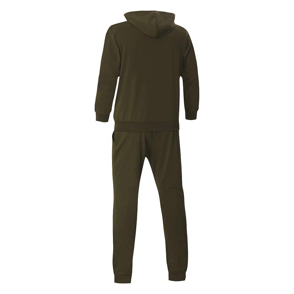 Amazon.com: Easytoy Mens Autumn Winter Camouflage Sweatshirt Top Pants Sets Sports Suit Tracksuit: Clothing