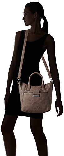 GERRY WEBER Be Different Handbag - Bolso con asas Mujer Marrón - Braun (mauve 305)