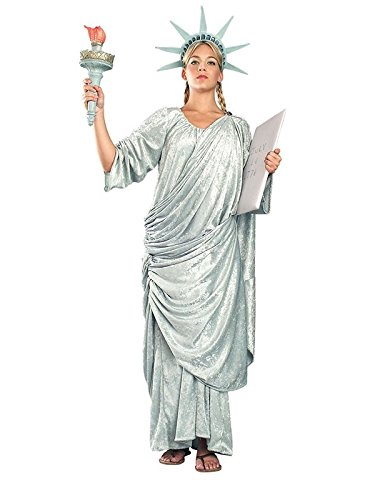 Rubie's Costume Co Deluxe Adult Miss Liberty Costume ()