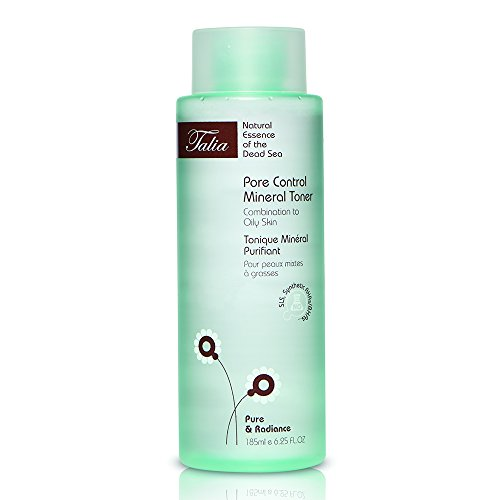 185 Toner - Talia Skin Care Pore Control Mineral Toner - Fragrance Free, Normal to Oily Skin