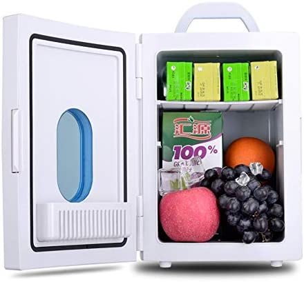 車載用 冷蔵庫 遠征のための電気クーラーそしてより暖かい車冷却装置、携帯用小型冷却装置、車のための静かな操作のクーラー 小型冷蔵庫 省エネ 軽量 エコタイプ (Color : White, Size : 32.8*23.5*26cm)