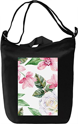 Texture design no. 9 Borsa Giornaliera Canvas Canvas Day Bag| 100% Premium Cotton Canvas| DTG Printing|