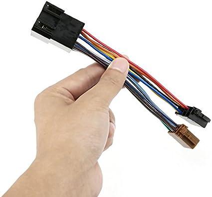 Arnés de audio estéreo del automóvil con adaptador ISO para ...