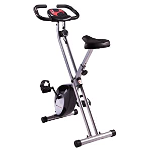 Ultrasport Heimtrainer F-Bike mit Handpuls-Sensoren, schwarz, 331100000022