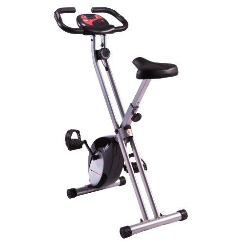 Ultrasport F-Bike - Bicicleta estática plegable, peso máximo ca. 100 kg