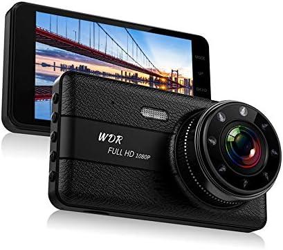 3インチダッシュライブチャット、FHD 1080P車のカメラドライビングレコーダー、モーション検知、Gセンサー、ループ・レコーディング、ナイトビジョン
