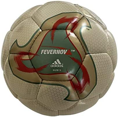 El uno al otro Electricista Sospechar  Matchball Adidas Fevernova OMB [Football World Cup 2002 Japan / South  Korea]: Amazon.co.uk: Sports & Outdoors