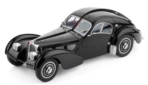 Classic Model Cars Bugatti 57 SC, Atlantic 1937, Black Limited Edition