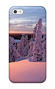 Hot Snow Covered Trees First Grade Tpu Phone Case For iPhone iphone 5c Case Cover
