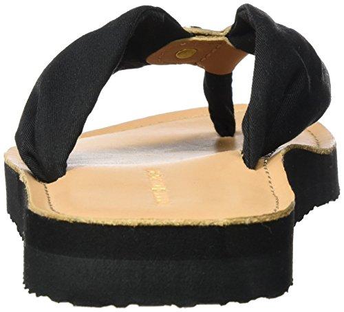 Ouvert 14d3 Bout M1285onica 990 Femme Hilfiger Tommy Noir Sandales Black waqSIfWWX