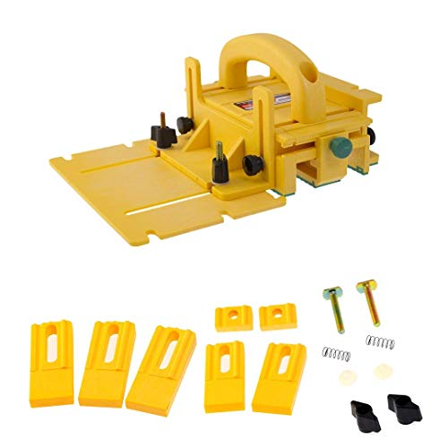 Microjig GRR-RIPPER Advanced 3D Pushblock with Gravity Heel Kit Bundle
