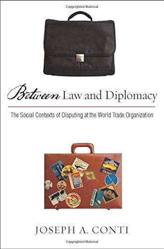 Between Law and Diplomacy: The Social Contexts of Disputing at the World Trade Organization