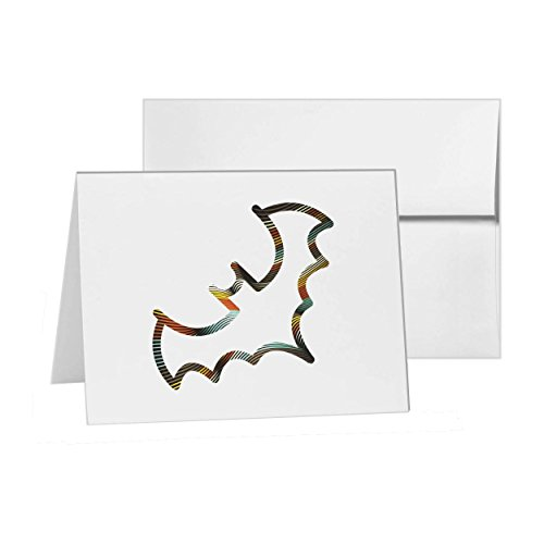 - Bat Animal Witch Halloween Evil, Blank Card Invitation Pack, 15 cards at 4x6, with White Envelopes, Item 715937