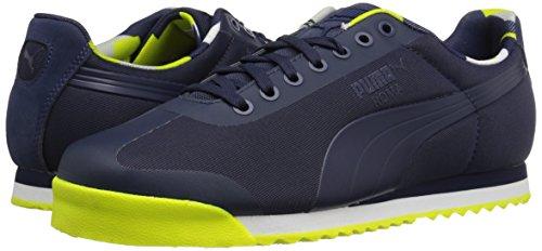 Peacoat Geometric Men's Camo Roma Puma Basic Fashion Sneaker qH60qRgF
