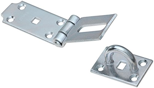 Stanley Hardware S755-600 CD941 Fixed Staple Hasp in Zinc plated