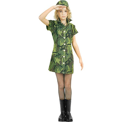 [Army Girl Preteen Costume] (Military Costumes For Teens)