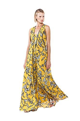 Fantasia Empire NENETTE Giallo Damen Kleid Gelb 1IwxBqp
