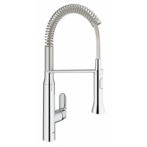 Swivel Faucet Grohe - K7 Medium Semi-Pro Single-Handle Standard Kitchen Faucet