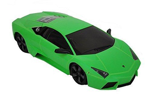 RC Car - 1/18 Scale Lamborghini Reventon Remote Control Electric Car - Green