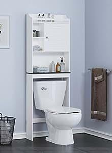 Amazon.com: Spirich Home Bathroom Shelf over the toilet ...