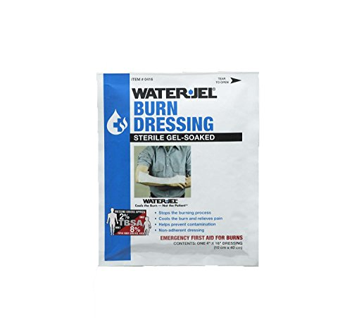 Medique Products 66416 Water Jel Burn Dressing, 4