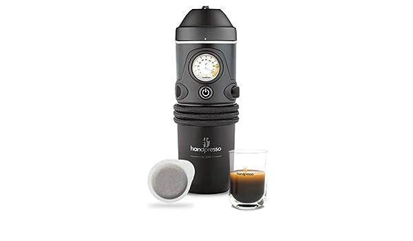 RaceFlag - Máquina de café con cápsulas de 12 V, toma de mechero de 16 bares: Amazon.es: Hogar